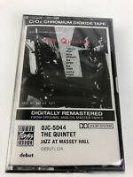 The Quintet ‎Jazz At Massey Hall 1956 OJC 5044 Cassette New Sealed