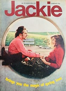 jackie magazine No.377 March 27th 1971,Leonard Whiting,curved Air,the Mixtures