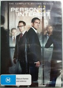 Person Of Interest: The Complete Second Season 2 6-Disc DVD Set 2013 R4 VGC