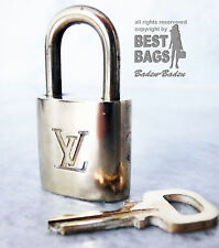 ORIG. Louis Vuitton castillo lock padlock No. 315 para Speedy, alma, keepall, equipaje
