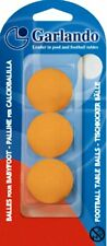 Garlando Orange Table Footballs - Pack of 3