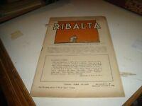 rivista teatro LA RIBALTA anno III° N. 1 - 15/2/1924