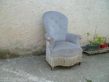 Ancien fauteuil voltaire XIXème siècle style Louis XV