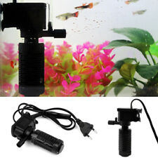 Mini 3 in 1 Aquarium Internal Filter Oxygen Submersible Water Pump For Fish Tank