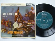 """NAT KING COLE After Midnight Part 2 EP - VG+/VG+ Cond Capitol 7"""" (1958)"""