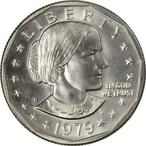 1979 S Susan B Anthony Dollar BU Uncirculated Mint State SBA $1 US Coin