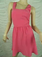 T by BETTINA LIANO hot pink racer back A-line party dress size 10 BNWT
