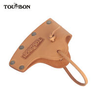 Tourbon Camping Handcrafted Axe Sheath Vegetable Tan leather Hatchet Belt Cover