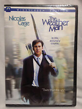 The Weather Man (DVD, 2005) Nicolas Cage, Michael Caine, BRAND NEW SEALED DVD!