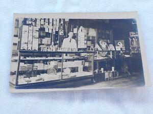 INSIDE OF DRUGSTORE 5 AND DIME CHARLOTTE IOWA RPPC 1912