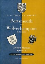More details for fa charity shield programme 1949 portsmouth v wolves @ arsenal