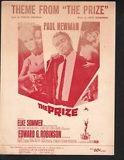 Theme from The Prize Paul Newman 1963 Elke Sommer Sheet Music
