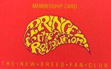 HTF 1985 PRINCE Controversial New Breed Members Card Roger Nelson Music Artist