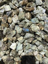 Wholesale Bulk 2lb Labradorite Rough Crystal Stones Tumbling/Lapidary BEST DEAL