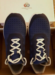 CLARKS  TORSET VIBE  CLOUD STEEPERS       MENS TRAINERS DARK BLUE SIZE 9.5