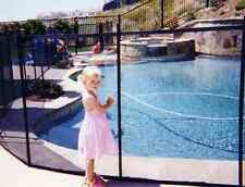Removable Mesh Pool Fence - Free Shipping