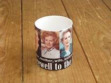 Margaret Thatcher British Prime Minister Farewell to the Legend MUG