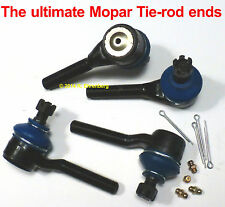 MOPAR ● OEM Spec TIE ROD END kit A-body Dart Duster Cuda Valiant Plymouth Dodge