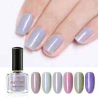 BORN PRETTY 6ml  Schimmer Nagel Lack Glitter Nail Art Varnish DIY Maniküre