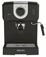 Krups Opio Steam and Pump Espresso Coffee Machine Automatic XP320840 Black