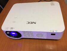 NEC NP-P502HLG Projector with power cord.Manufactured July 2016.