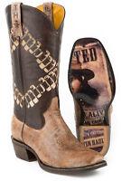 Tin Haul Boots Tin Haul Men's Bullet Cowboy Boots Bandolero Sole