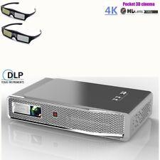 2020 Akaso 8500 Lumens DLP Android WIFI BT 3D HD 4K Video Projector 16G HDMI USB