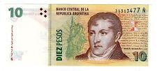 ARGENTINA NOTE 2014 10 PESOS Serie Ñ - P#354 - B#3442 - UNC