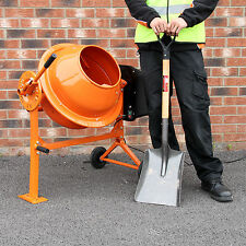 Electric Cement Mixer 70 Litre 250W Portable Concrete Mortar Mixing Machine 240V