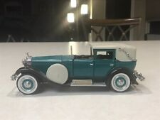 New Listing1/43 Franklin Mint 1928 Isotta Fraschini Landaulet World's Greatest Cars