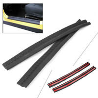 2Pcs Black ABS Entry Guard Door Sill Scuff Plate for Jeep Wrangler TJ 1997-2006