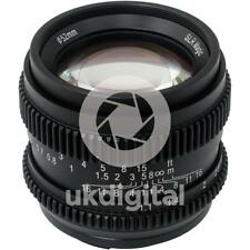 SLR Magic CINE 50 mm F1.1 II Lentille Pour Sony E/FE