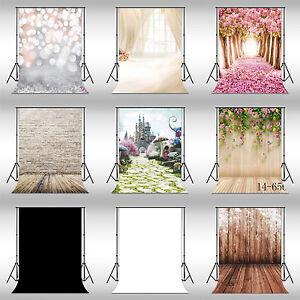 9 Type Vinyl Brick Flower Floor Studio Backdrop Photography Background 3x5FT NEW