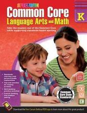 Spectrum: Common Core Language Arts and Math, Grade K (2014, Paperback)