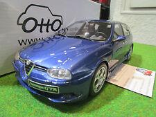 ALFA ROMEO 156 GTA SPORTWAGON bleu au 1/18 de OTTOMOBILE OT156 voiture miniature