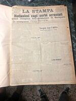 LA STAMPA SECONDO SEMESTRE 1914 dal numero 179 al 365 giornale GUERRA 1914 1918