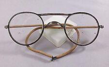 Vintage American Optical Metal Frame Safety Glasses AOCO76 - No Sides