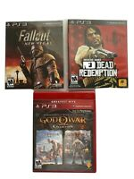 PlayStation 3 God Of War Collection Red Dead Redemption Fallout New Vegas