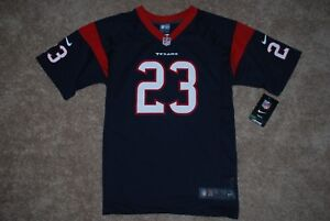 NEW Nike #23 Arian Foster Houston Texans Blue NFL Jersey (Youth Large, X-Large)