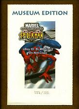Ultimate Spider-Man #1 German Museum Issue White! Movie! Amazing