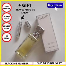 Calvin Klein ETERNITY Women 100ml Perfume Spray Edp Eau De Parfum New Box