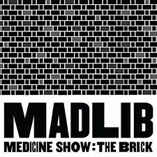 MADLIB - MEDICINE SHOW: THE BRICK NEW CD
