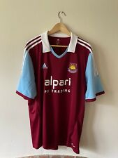 West Ham United Home Football Shirt XXL