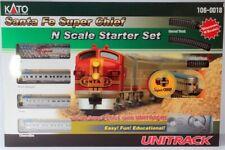 KATO 1060018 N Scale F7A Santa Fe Super Chief Set w/UNITrack & Power 106-0018