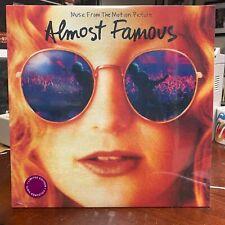 Almost Famous Soundtrack Vinyl Lp Cream colored vinyl sealed