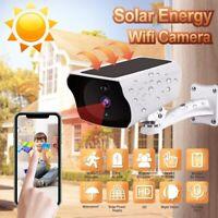 IP Solar WiFi WLAN 1080P Außenkamera Überwachungskamera Kabellos Android