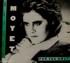 """ALISON MOYET """"FOR ONLY YOU/Money Mile"""" COLUMBIA 05614 (1984) 45 & PIC SLEEVE"""
