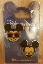 PIN Disneyland Paris SET EMOJI MICKEY / MK OE