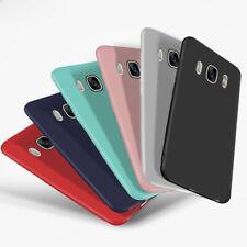 For Samsung Galaxy J3 J5 J7 2016 2017 Matte Soft Silicone TPU Back Case Cover