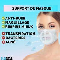 Protège Maquillage bué lunette Support  Masque 3D Respirant EXPEDIE DE FRANCE